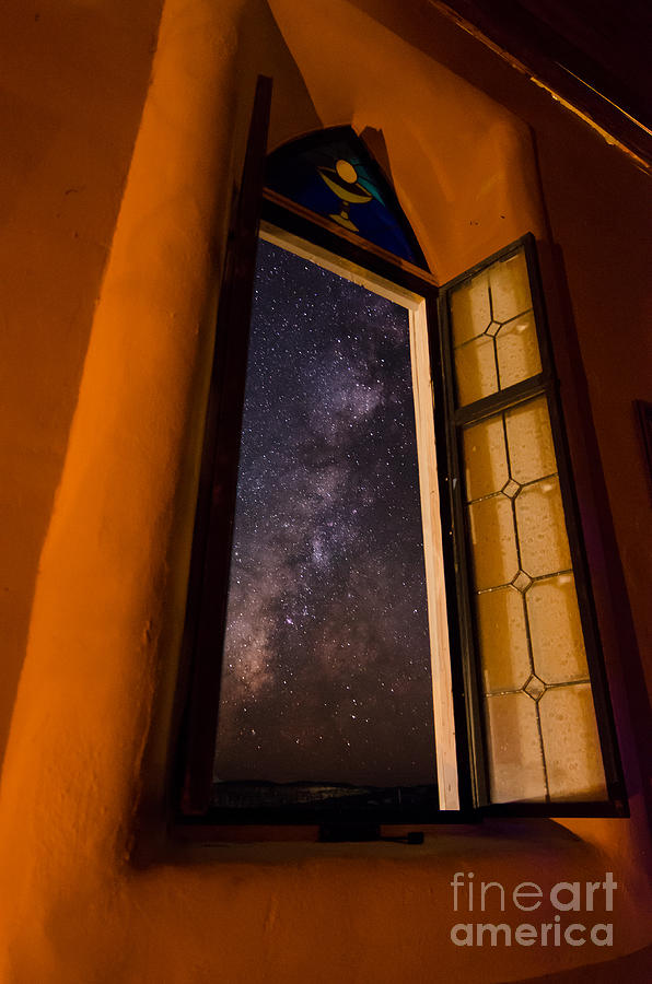 Window To The Galaxy Photograph