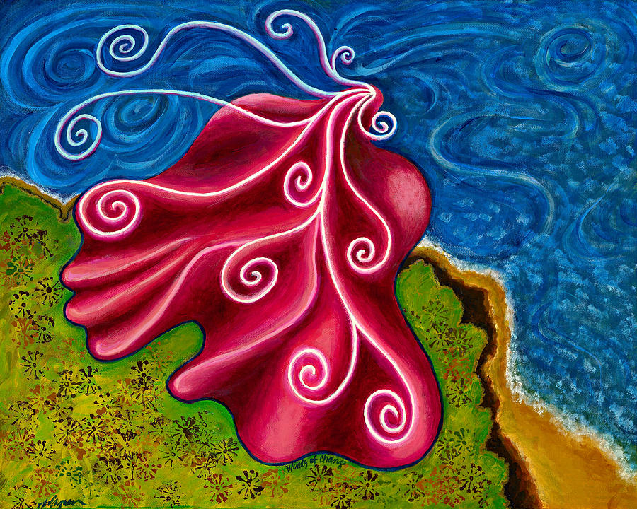 Winds Of Change Painting  - Winds Of Change Fine Art Print