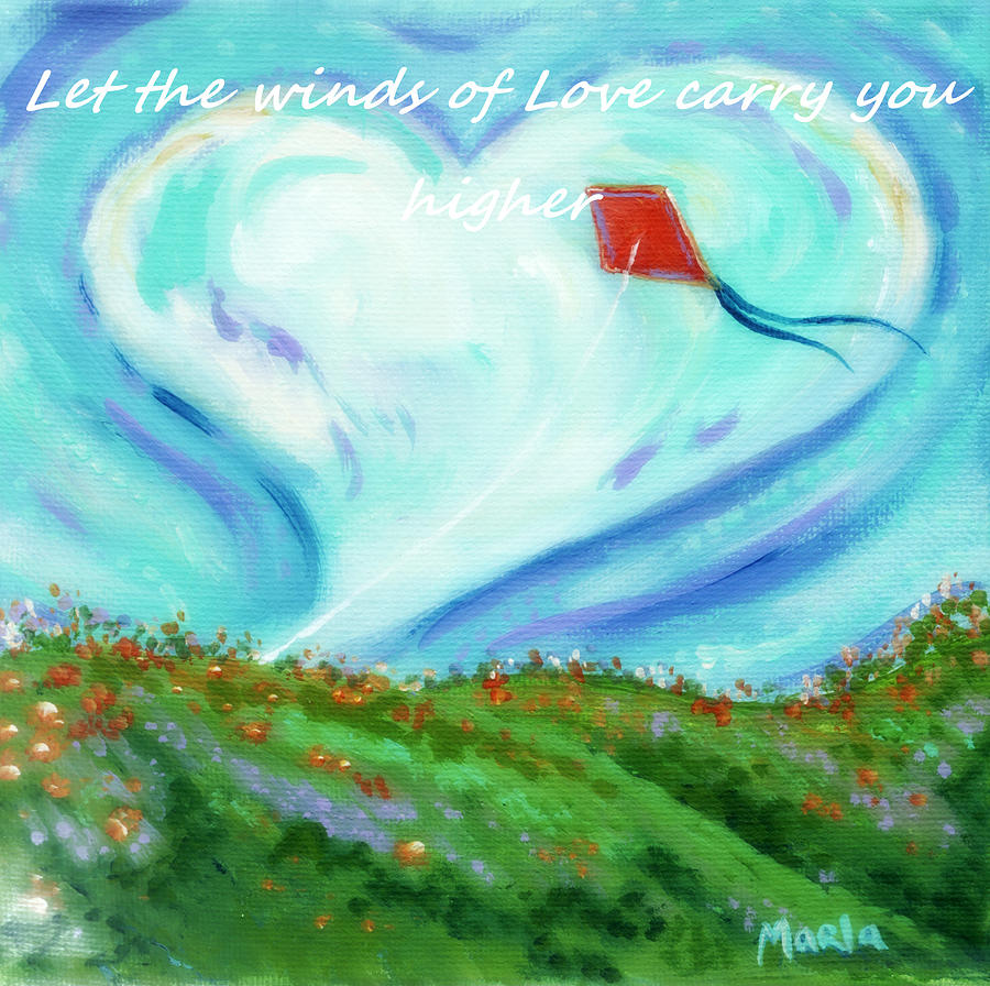 Winds Of The Heart Painting  - Winds Of The Heart Fine Art Print