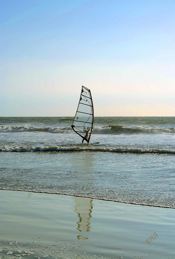 Windsurfing Photograph