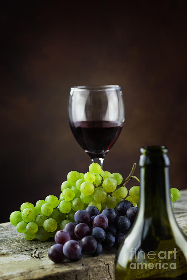 Alcohol Photograph - Wine Concept by Mythja  Photography