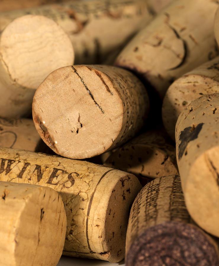 Wine Corks Colour Photograph