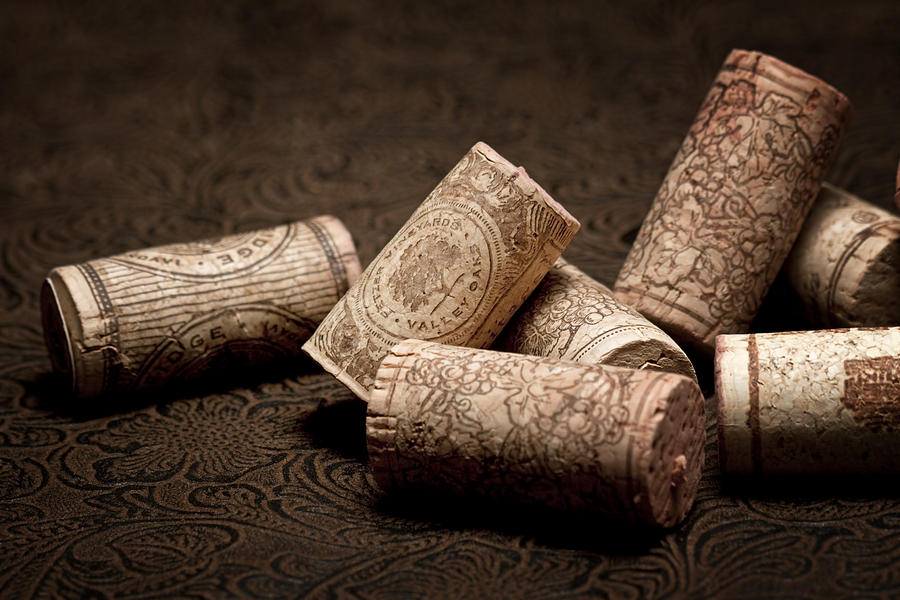 Wine Corks Still Life IIi Photograph