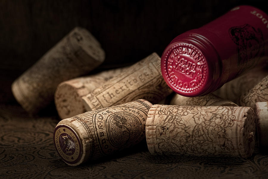 Wine Corks Still Life Iv Photograph