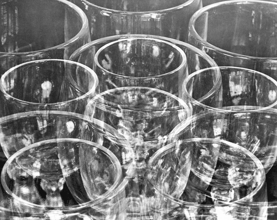 Wine Glasses , Mexico City, 1925 Photograph