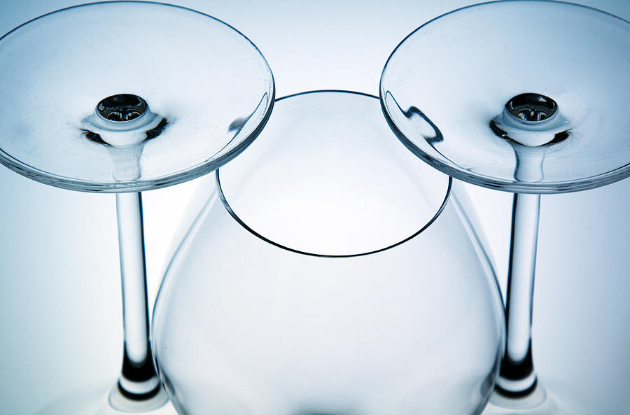 Wine Glasses 6 Photograph  - Wine Glasses 6 Fine Art Print