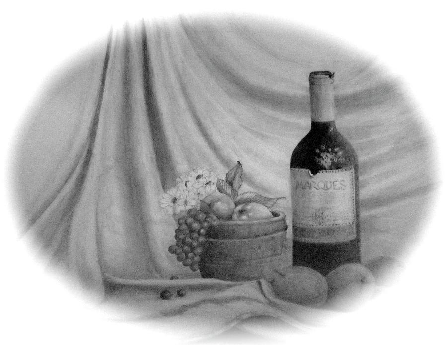 Wine Drawing
