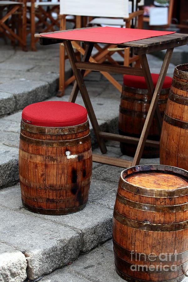 Wine Seats Photograph