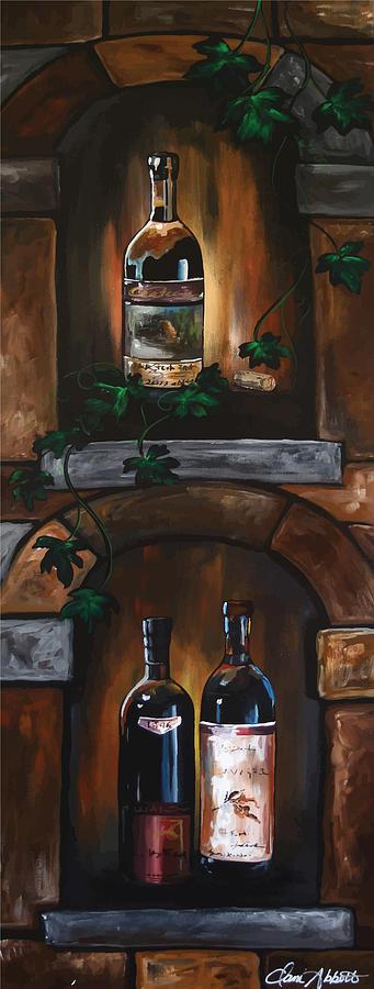 Wine Trio Painting