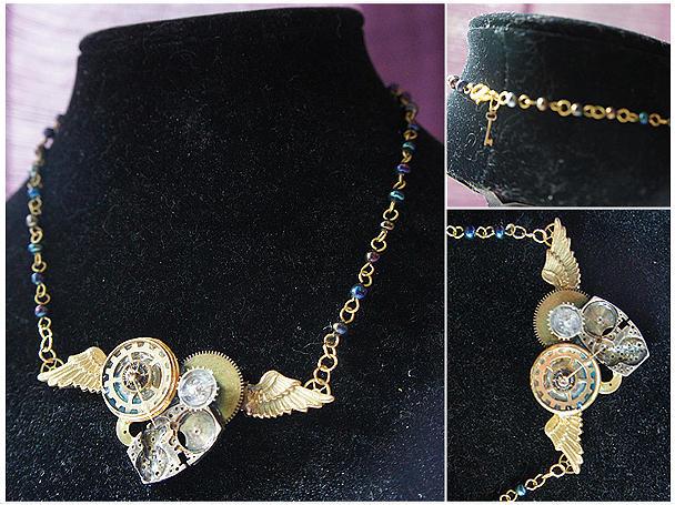 Winged Heart Jewelry