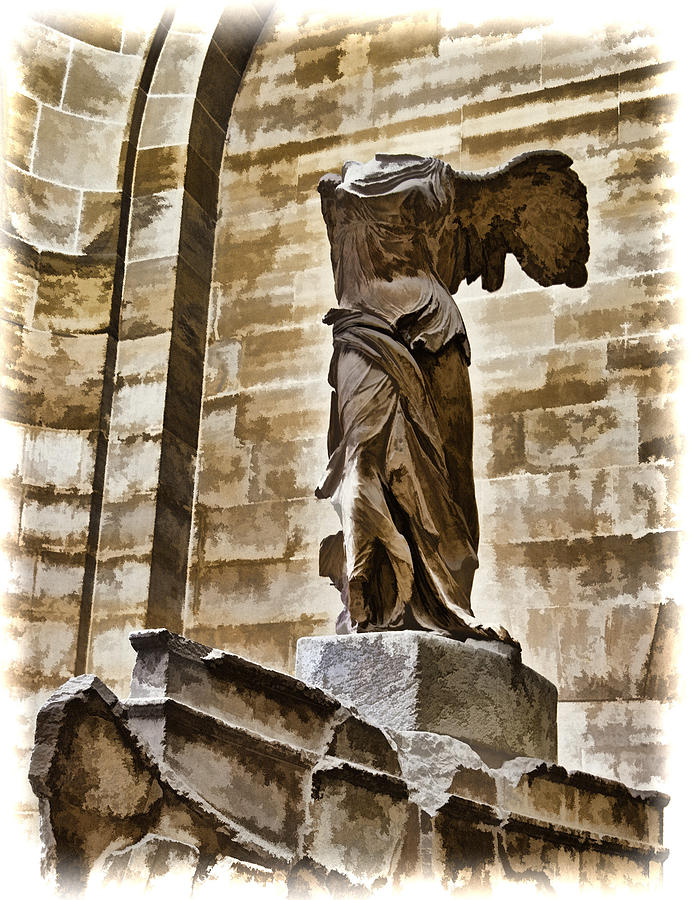 Winged Victory - Louvre Photograph