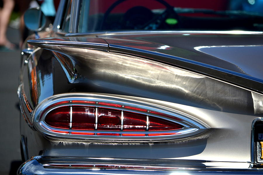 Chevy Photograph - Winging It by Dean Ferreira