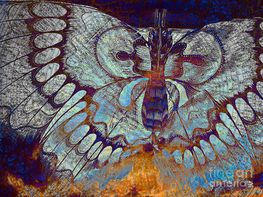 Wings Of Destiny Mixed Media  - Wings Of Destiny Fine Art Print