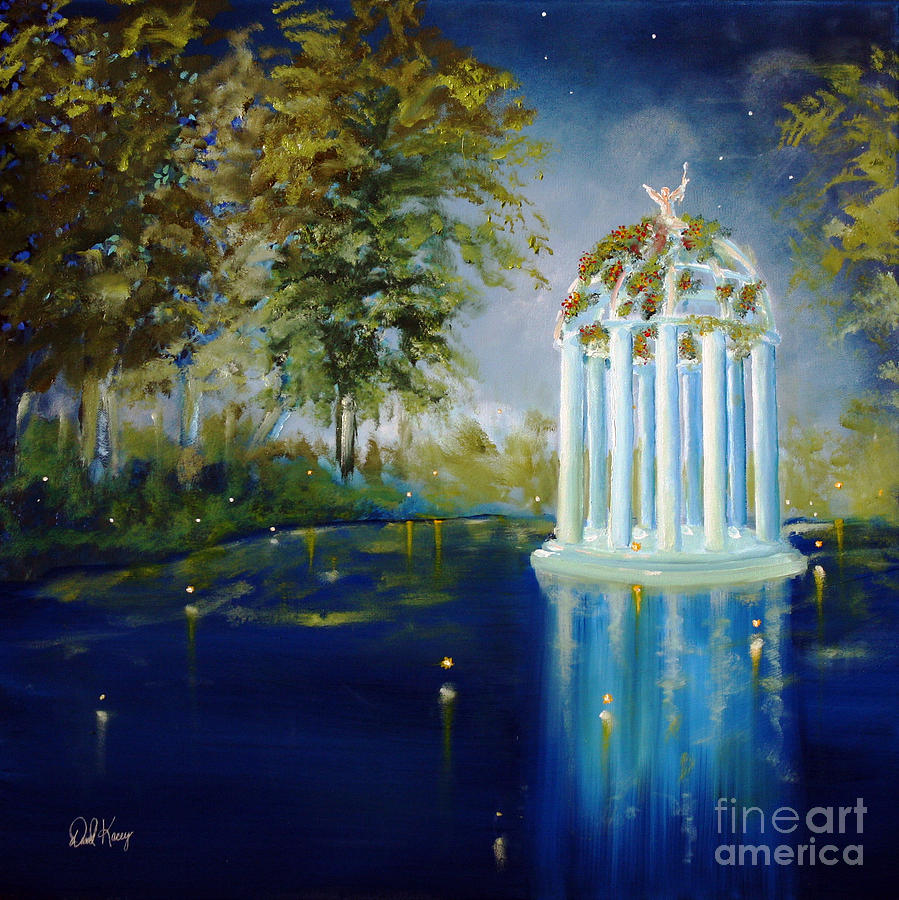 Wings Of Love Gazeebo Painting  - Wings Of Love Gazeebo Fine Art Print