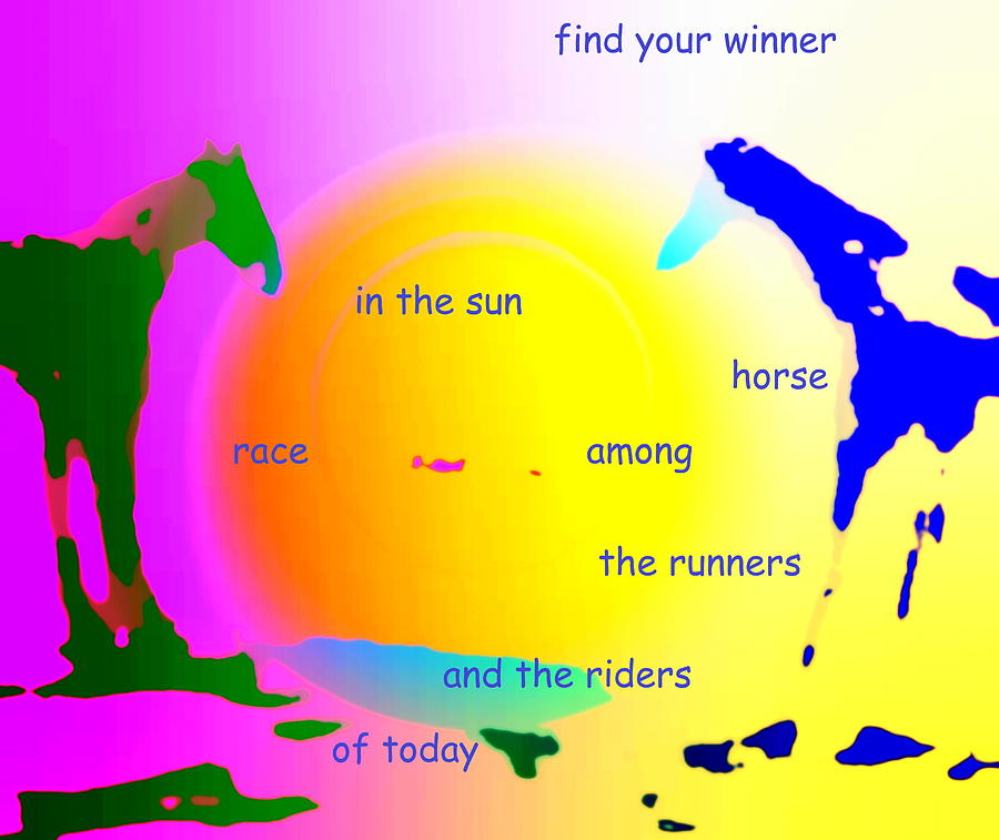 Winner In The Sun Painting