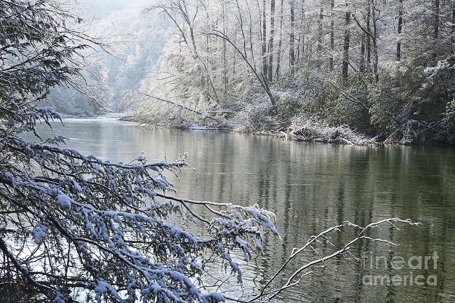 Winter Along Williams River Photograph