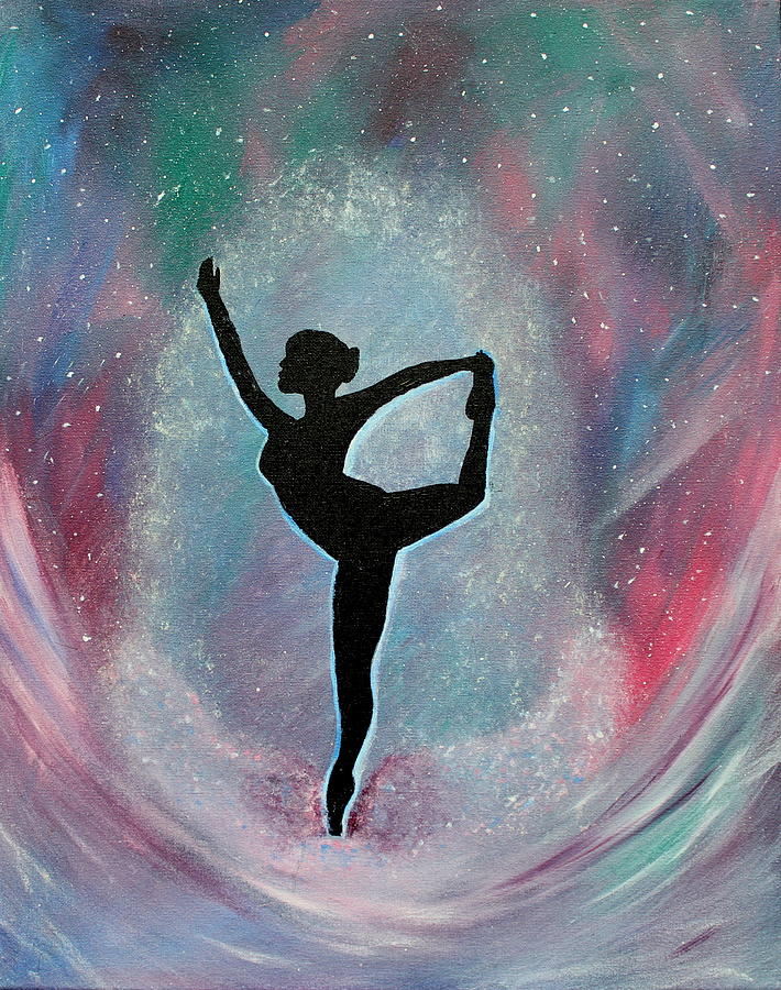 Ballet Painting - Winter Ballet Dancer by Vicki Kennedy