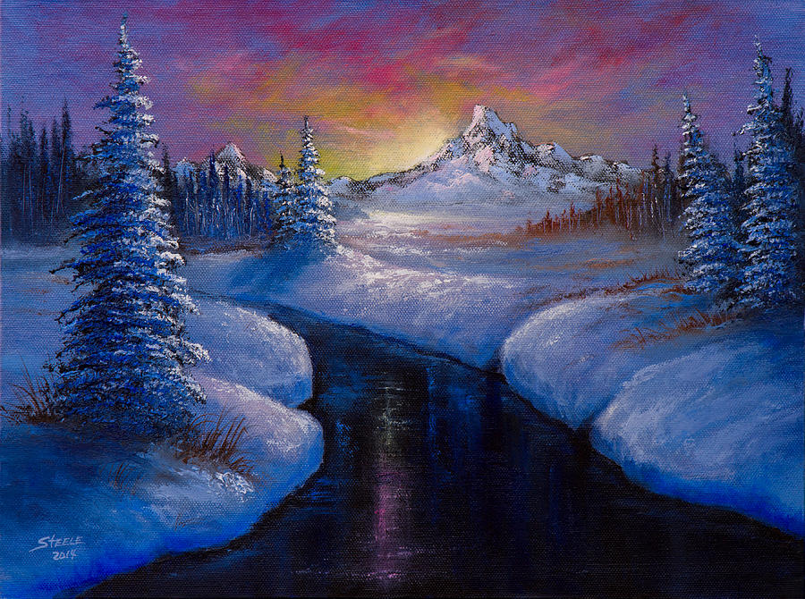 Winter Beauty Painting