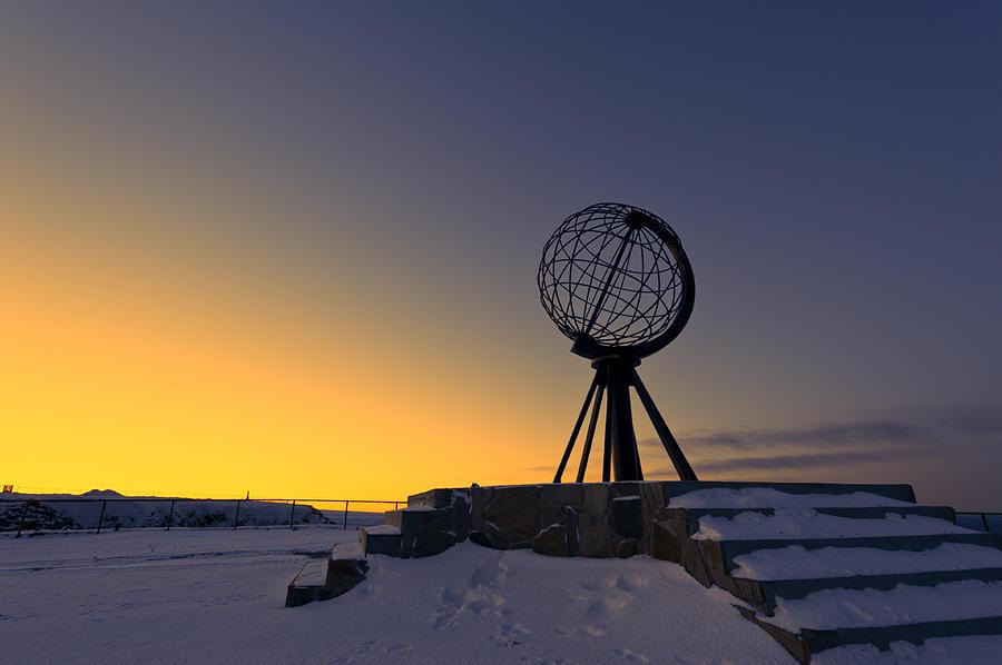 Winter Beyond The Arctic Circle Photograph