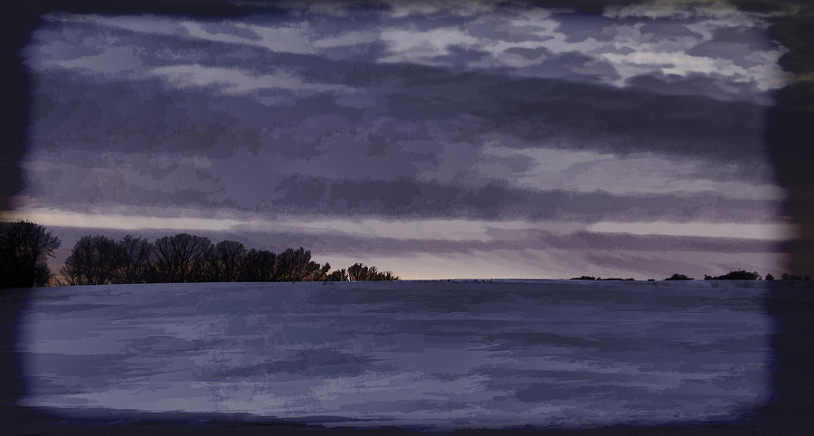Winter Photograph - Winter Blues by Thomas Young