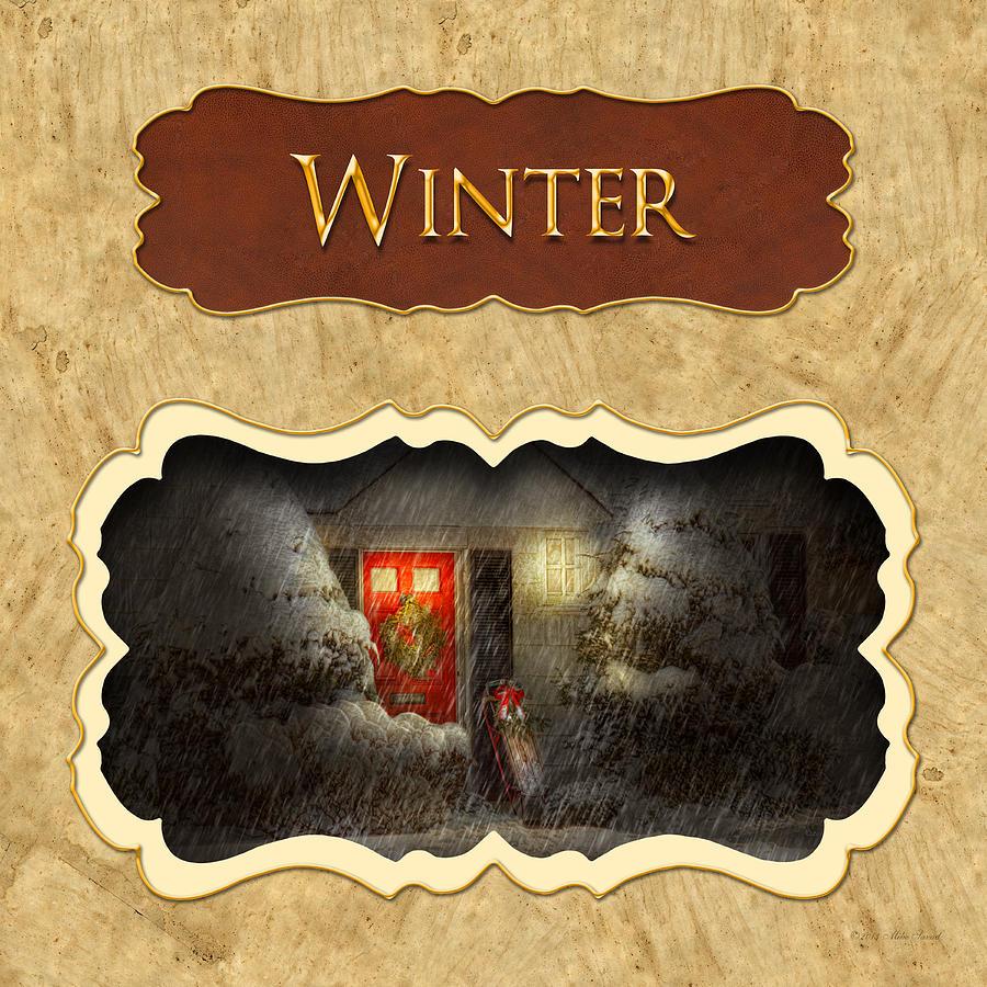 Winter Button Photograph