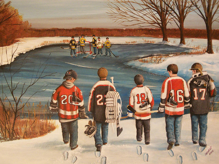 Winter Classic - 2010 Painting