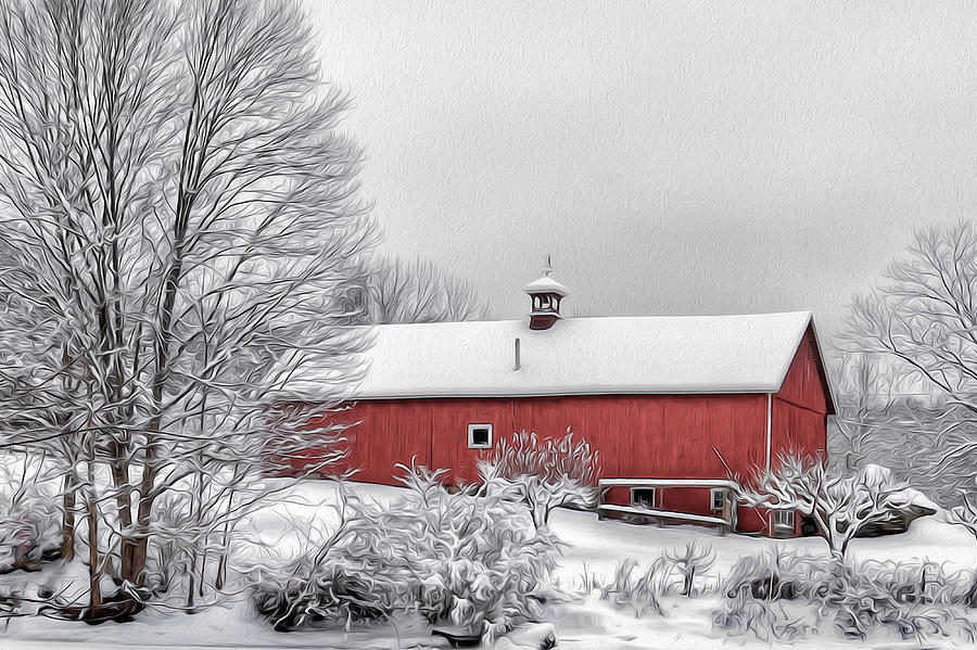 Winter Day Photograph  - Winter Day Fine Art Print