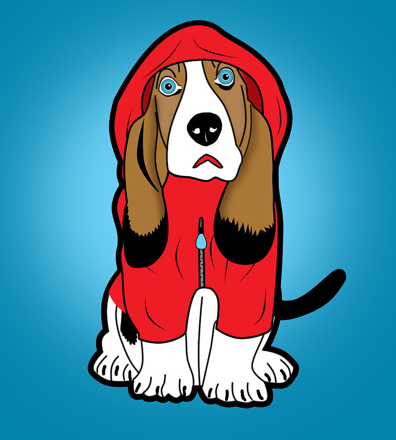 Pop Art Digital Art - Winter Dog  by Mark Ashkenazi