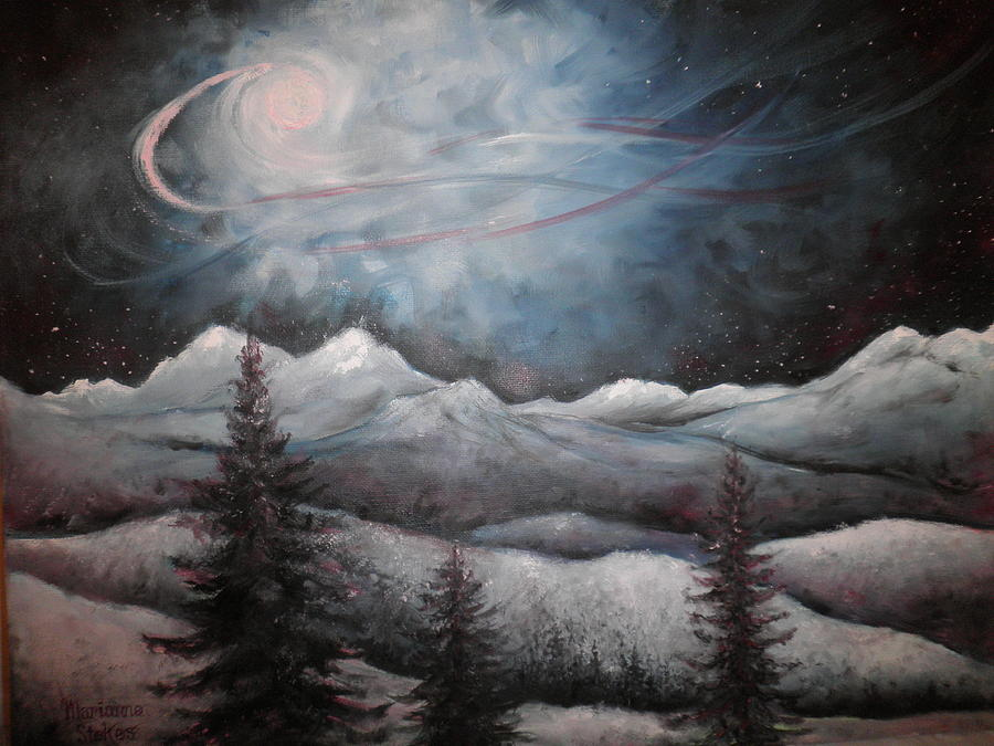 Winter Dream Painting