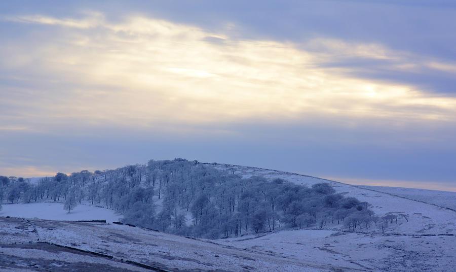 Winter Dusk Near Buxton Photograph