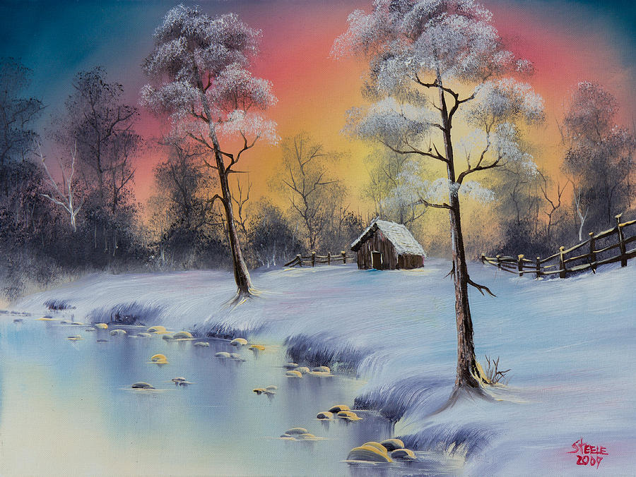 Winter Elegance Painting