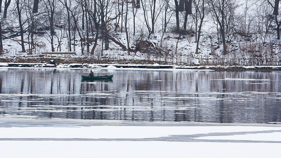Winter Fishing Photograph