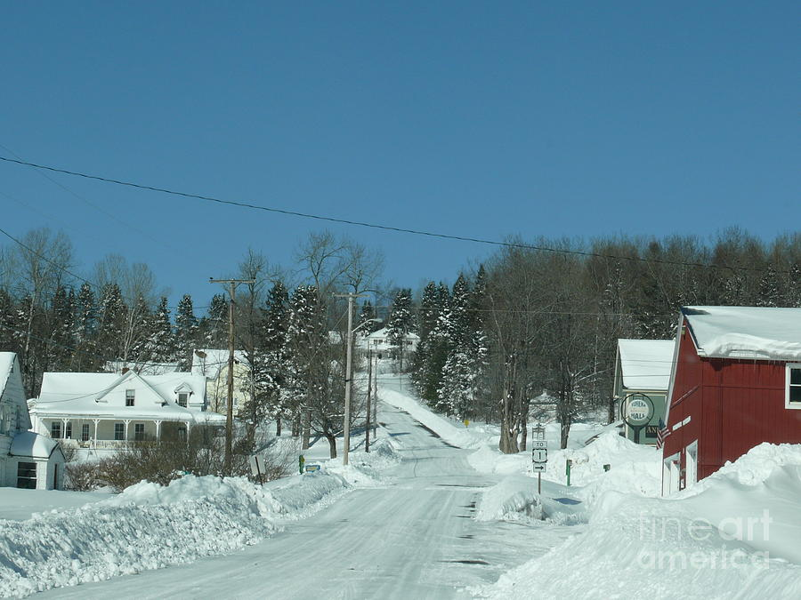Winter Photograph - Winter In Maine by Brenda Ketch