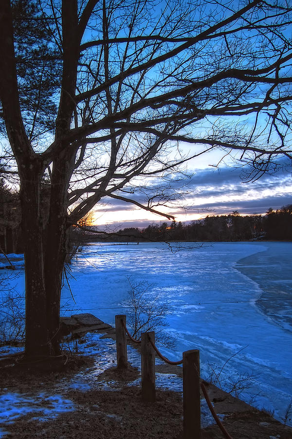 Winter In New Hampshire Photograph