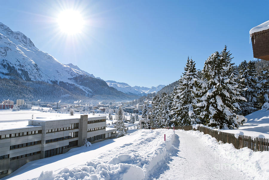 Winter In St. Moritz Photograph