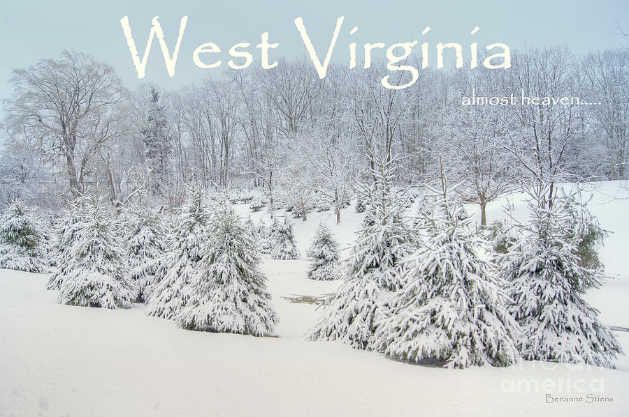 Winter In West Virginia Photograph  - Winter In West Virginia Fine Art Print