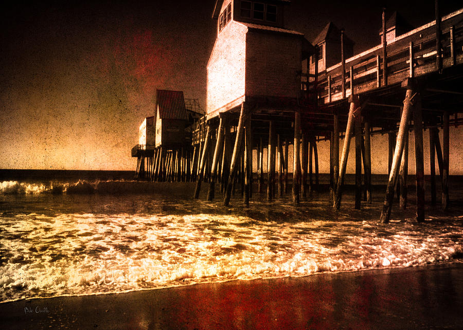 Winter Old Orchard Beach Photograph