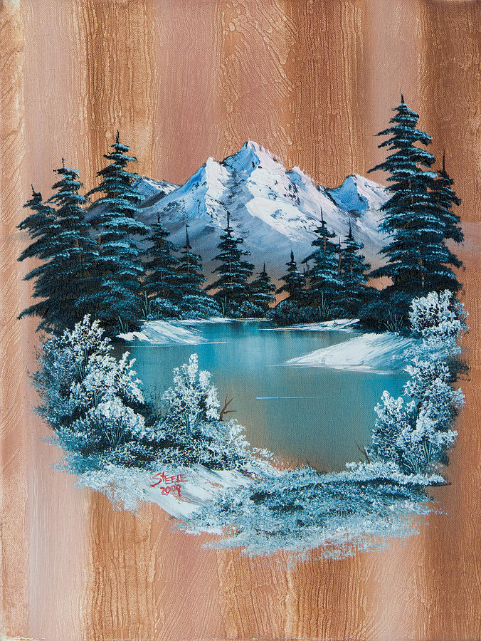 Winter Paradise Painting