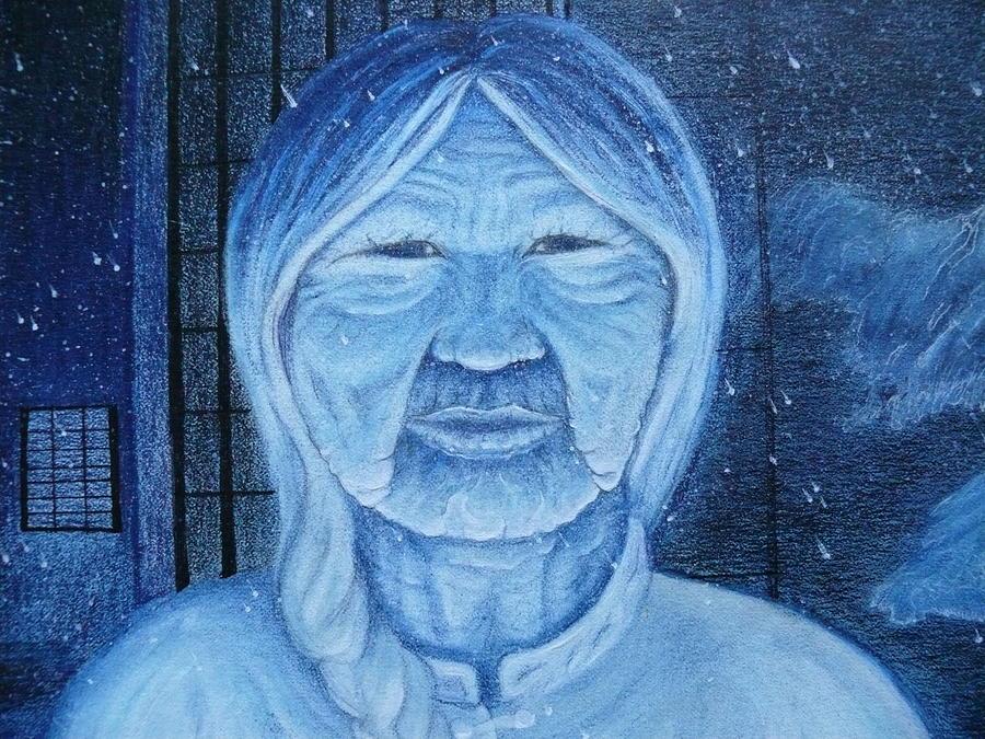 Winter Portrait Painting