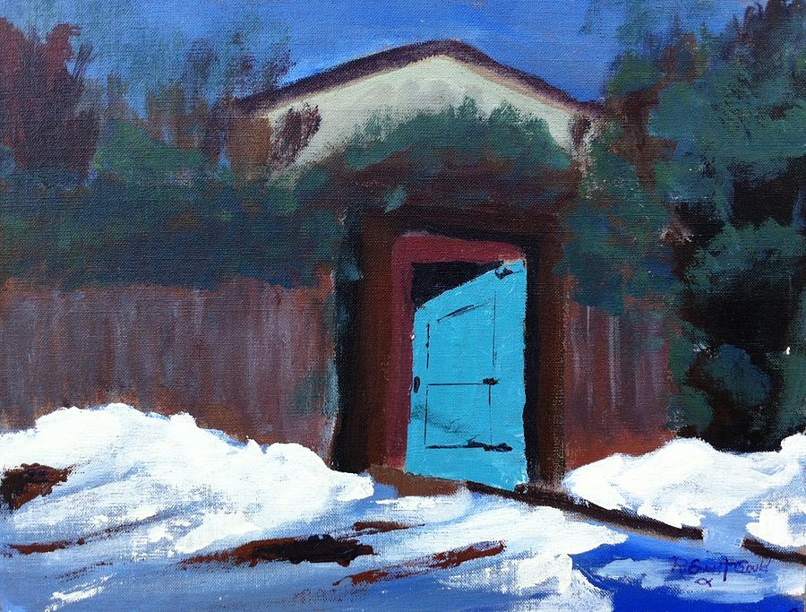 Winter Retreat Painting  - Winter Retreat Fine Art Print