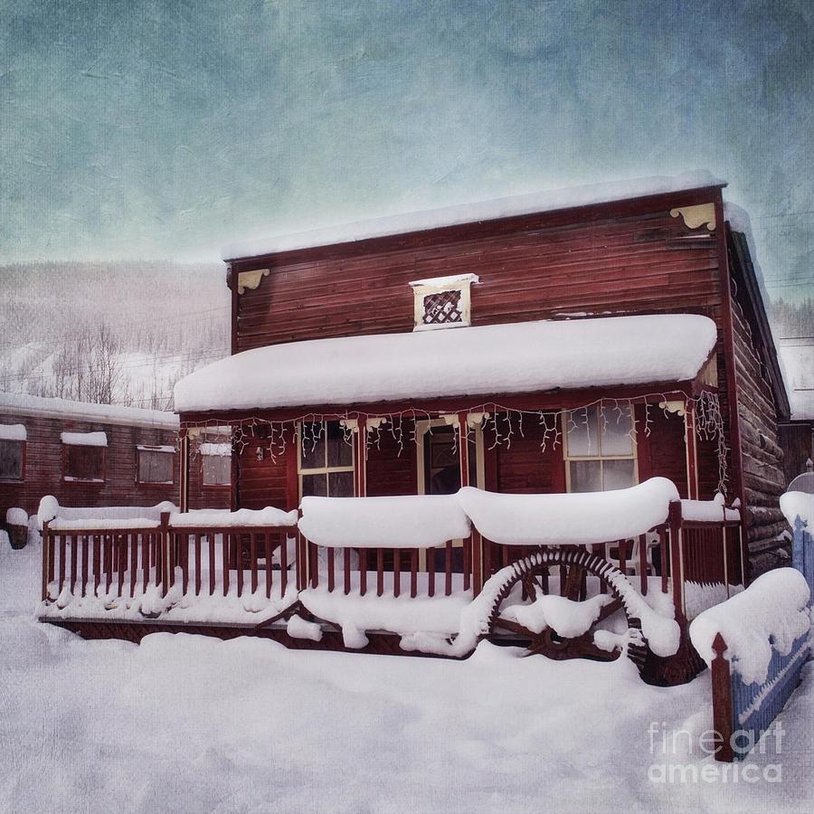 House Photograph - Winter Sleep by Priska Wettstein