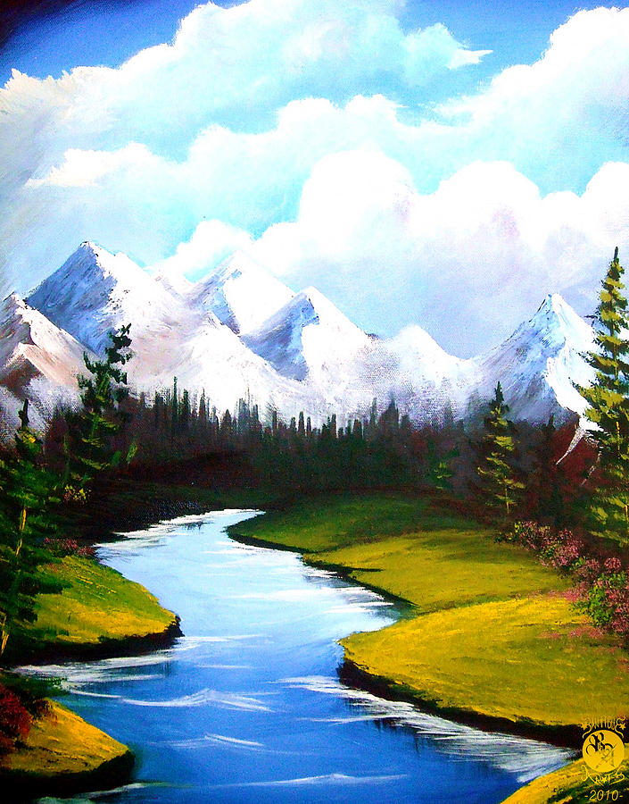Winter Spring Painting
