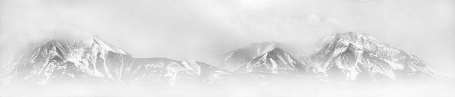 Winter Storm Over The Sangre De Cristo Mountains Photograph  - Winter Storm Over The Sangre De Cristo Mountains Fine Art Print
