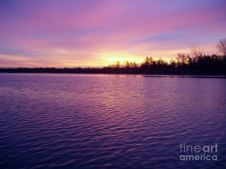 Winter Sunrise Photograph  - Winter Sunrise Fine Art Print