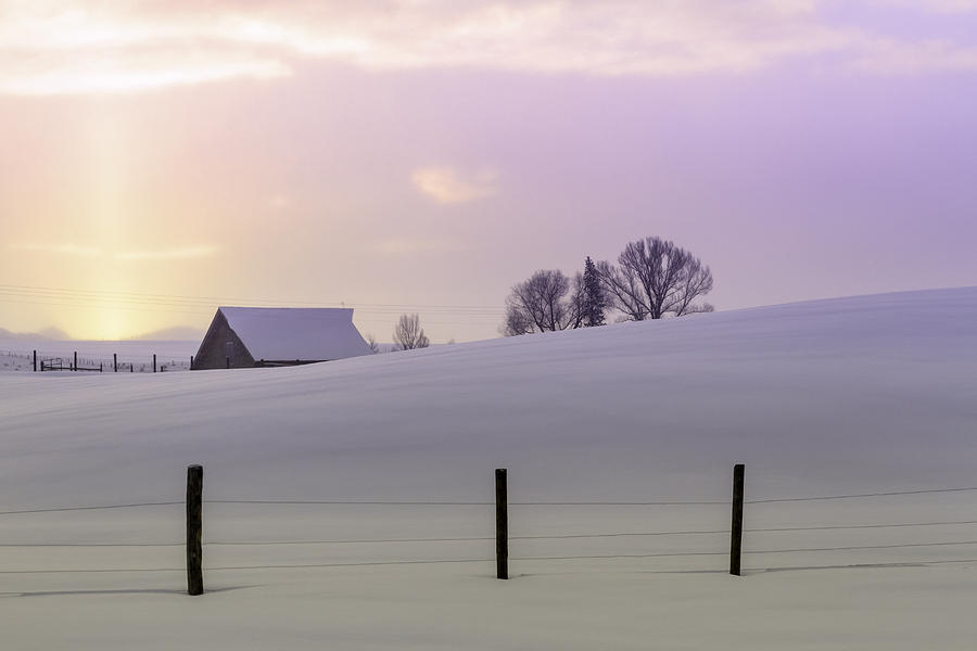 Winter Sunrise Photograph