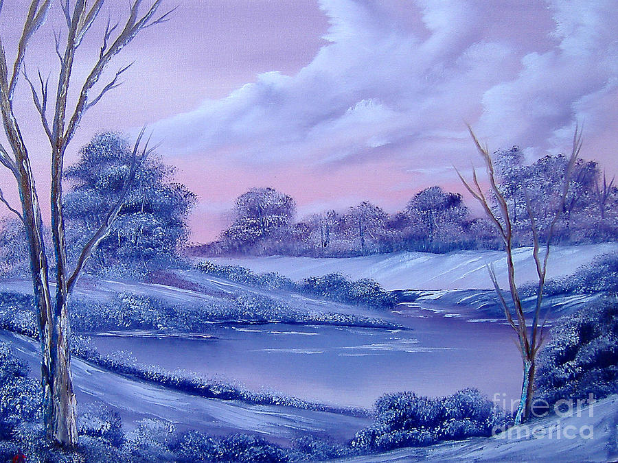 winter wonderland is a painting by cynthia adams which was uploaded on