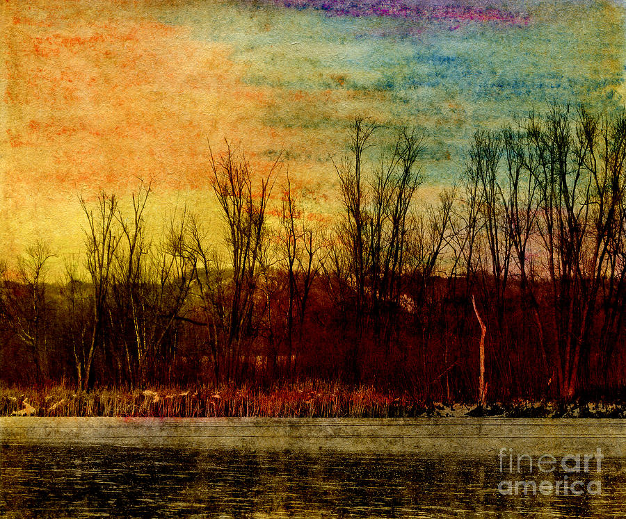 Winters Shore Mixed Media