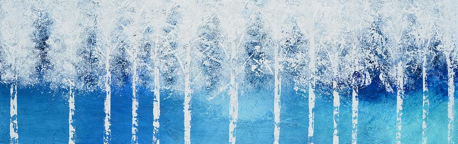 Wintry Mix Painting