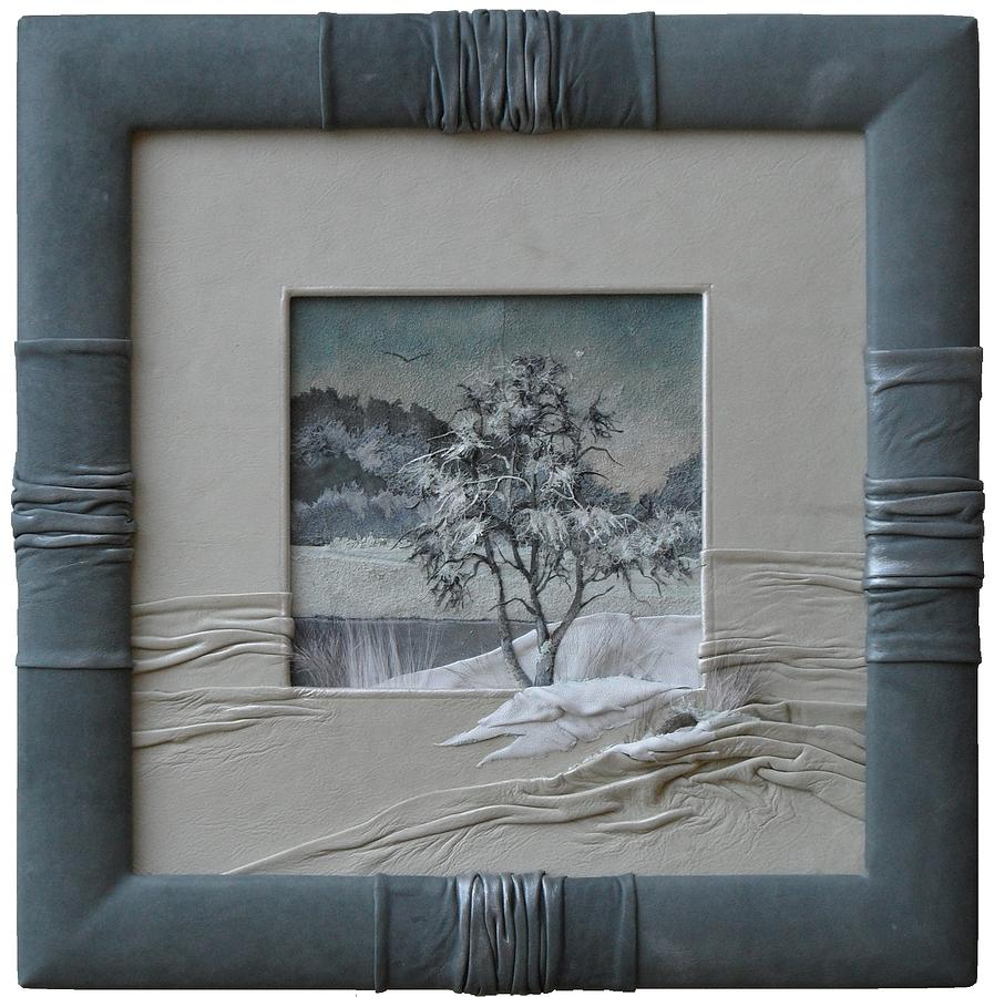 Wintry Morning Painting  - Wintry Morning Fine Art Print