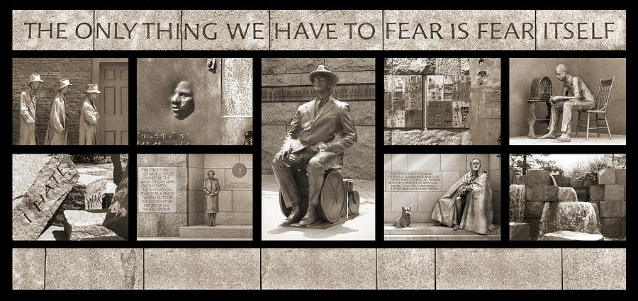 Wip - Fdr Memorial - Washington Dc Photograph  - Wip - Fdr Memorial - Washington Dc Fine Art Print